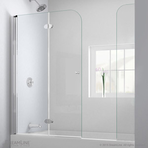 AquaFold. Tub Door with Extender & Tub DOORS Tub Screens Tub glass doors tub frameless doors