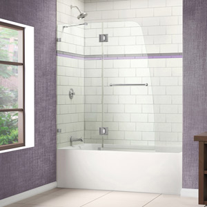 Tub DOORS Tub Screens Tub Glass Doors Tub Frameless Doors - Seamless bathroom shower doors