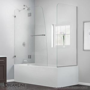 Aqualux Tub Door With Return Panel