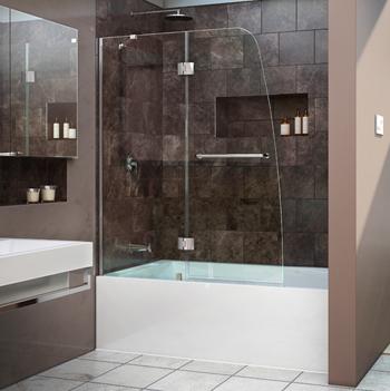 Dreamline Showers Aqua Hinged Tub Door