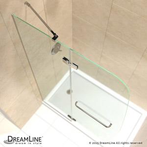 Aqua Ultra Hinged Shower Door