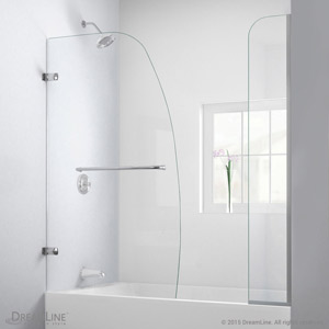 Aqua Uno. Tub Door With Extender