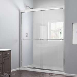 Dreamline Showers Duet Bypass Sliding Shower Door