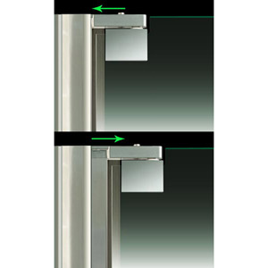 ELEGANCE ADJUSTABLE WALL PROFILE WITH
