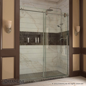 Enigma Sliding Shower Door