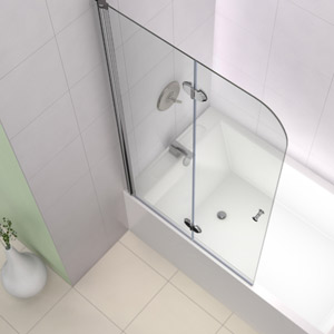 Dreamline Showers Ez Fold Hinged Tub Door