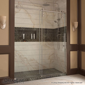 Enigma-Z & Enigma-Z Sliding Shower Door