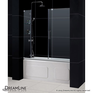 Dreamline Showers Mirage Sliding Tub Door