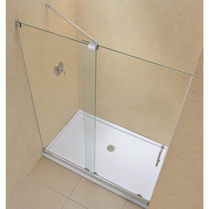 Frameless Sliding Shower Doors dreamline showers: mirage sliding shower door
