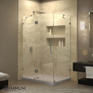 Quatralux Hinged Shower Enclosure