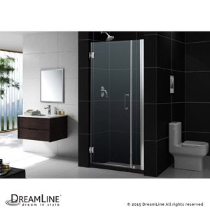 Unidoor  sc 1 st  Dreamline Shower Doors & DreamLine showers: Unidoor Hinged Shower Door