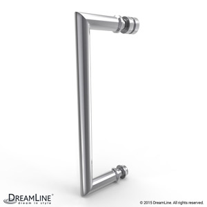 Shower Door Handle in Chrome finish