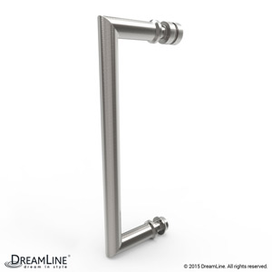 Shower Door Handle in Brushed Nickel finish