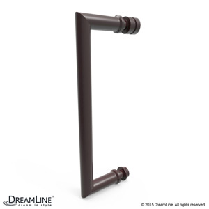 Shower Door Handle in Oil Rubbed Bronze finish
