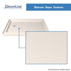 Double Threshold Shower Base