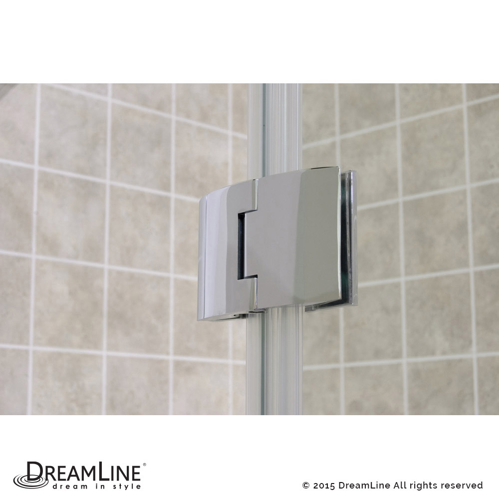 DreamLine showers: Aqua Hinged Shower Door