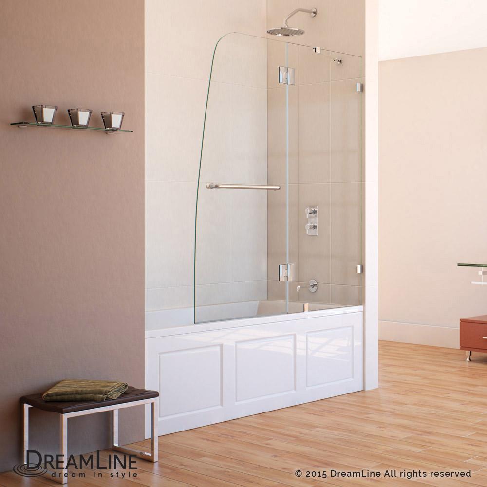 Dreamline Showers Aqualux Hinged Tub Door