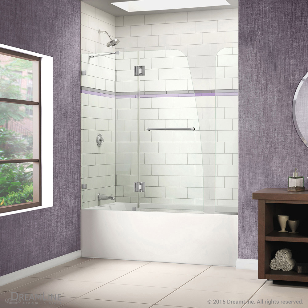 Aqualux Tub Door With Extender Panel