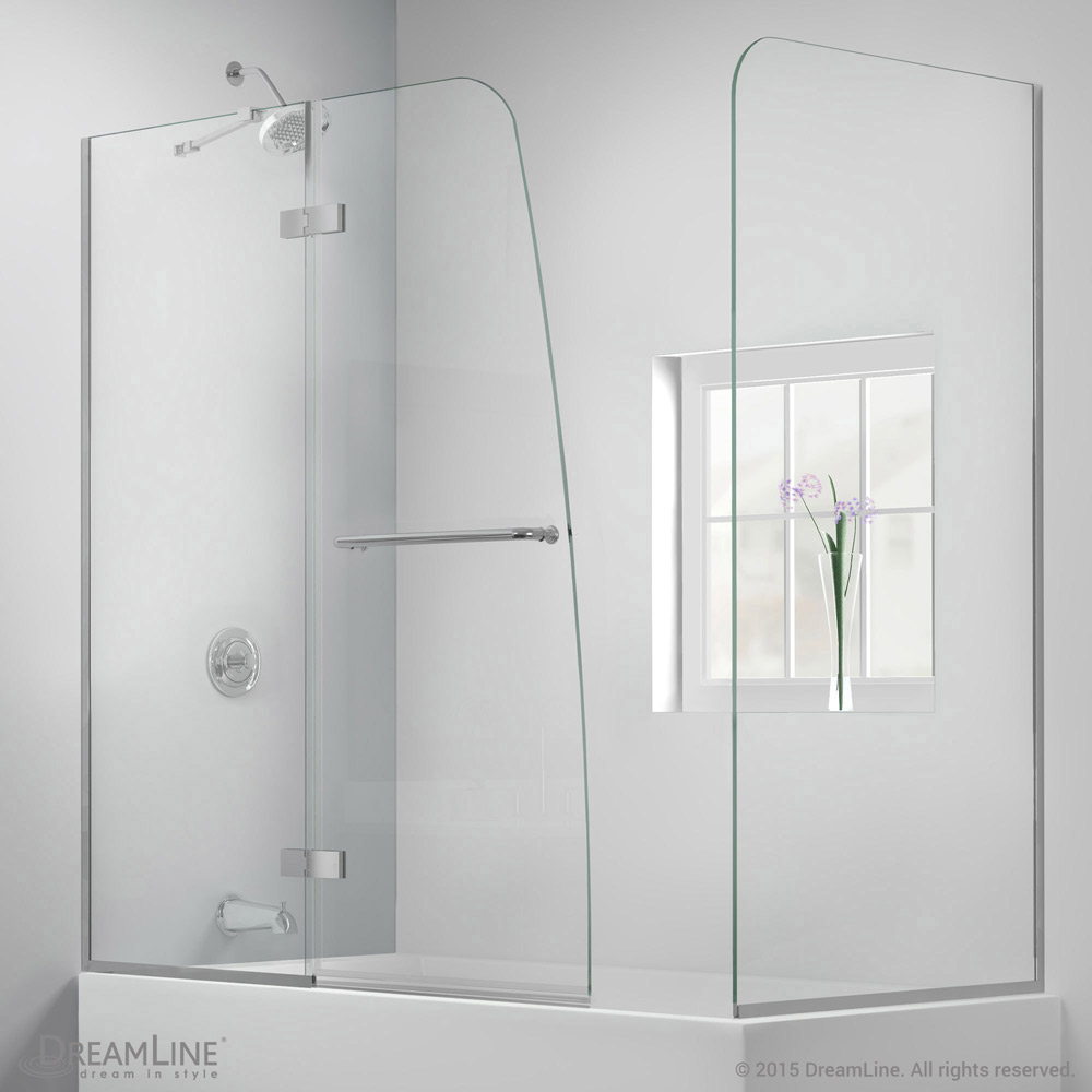 AquaUltra Hinged Tub Door with Return Panel