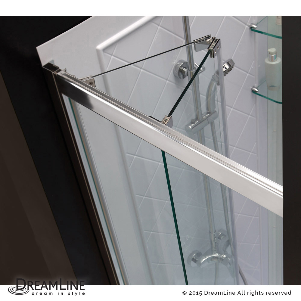 Shower door dreamline bathroom shower doors frameless glass shower - Shower Door Base Kit