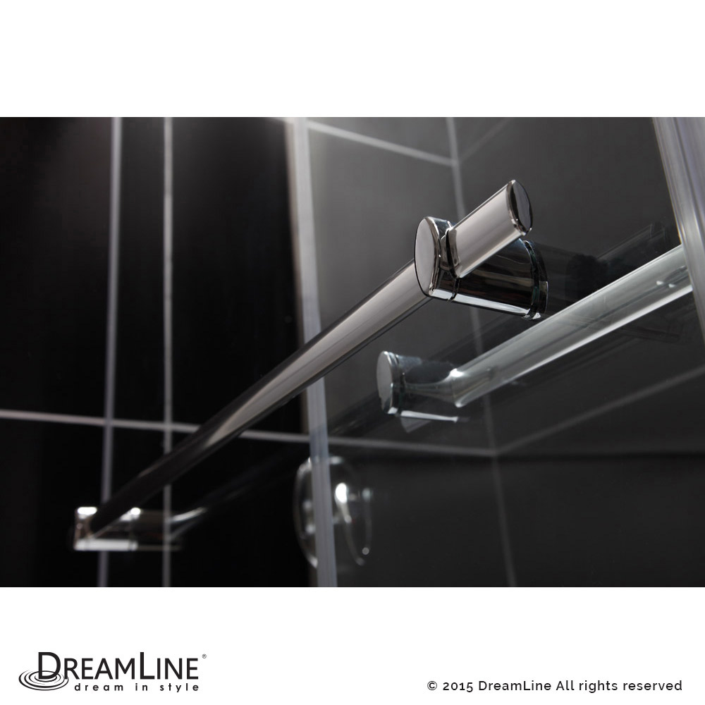 DreamLine showers: Duet Bypass Sliding Tub Door