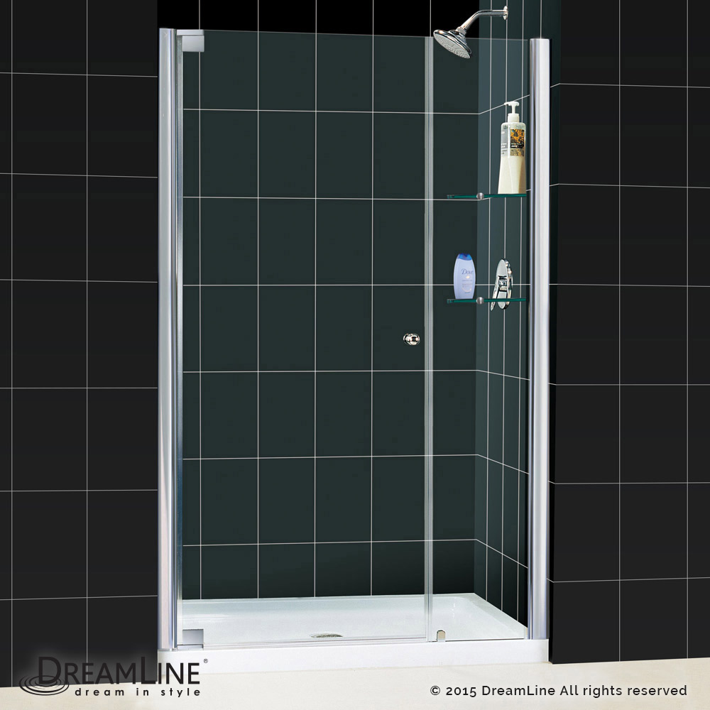 Elegance Pivot Shower Door Amp Base Kits