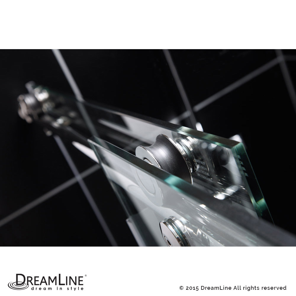 DreamLine showers: Enigma-X Sliding Tub Door