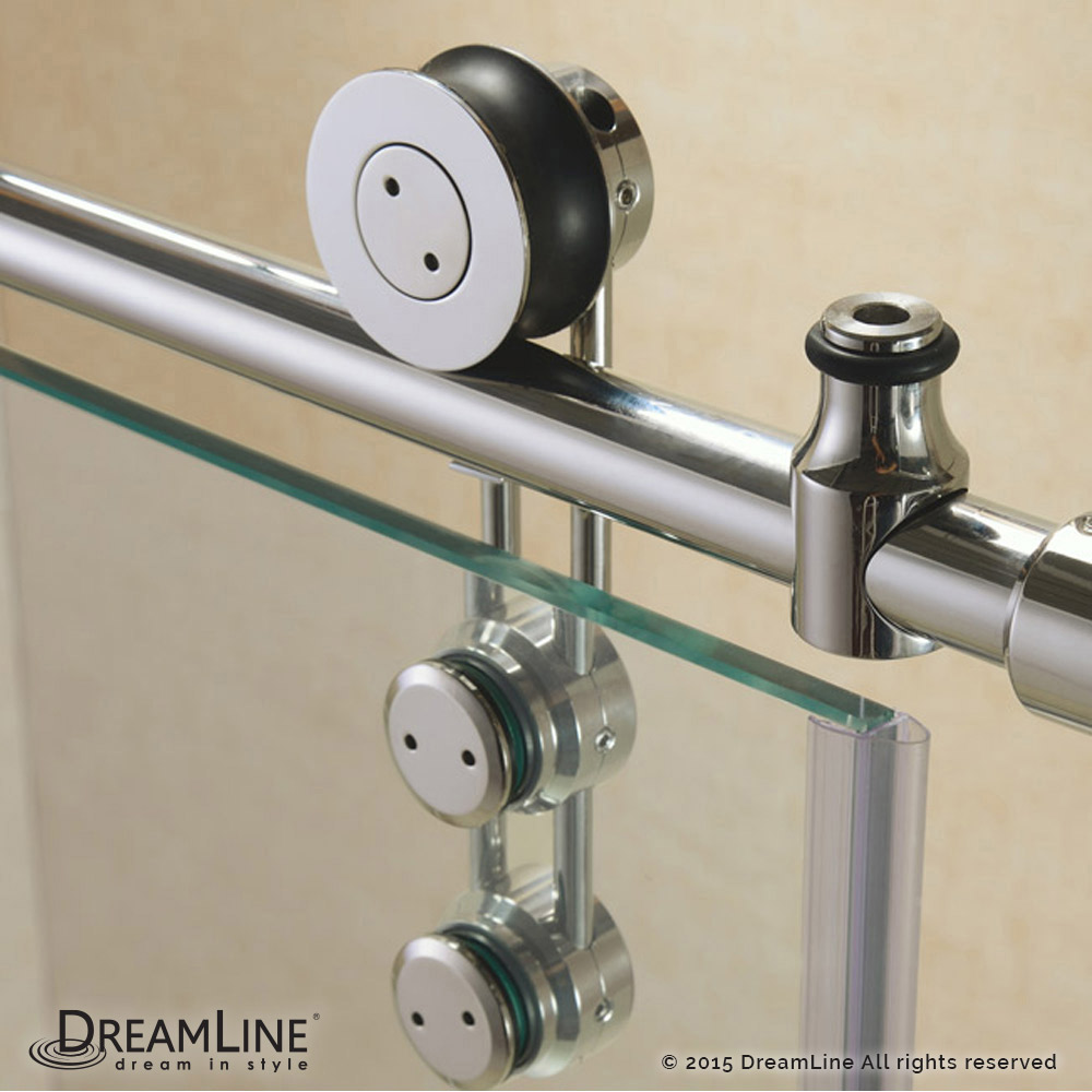 DreamLine showers: Enigma-Z Sliding Tub Door
