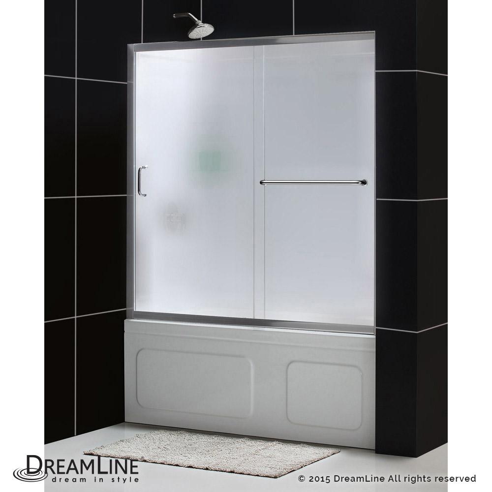 Infinity-Z Sliding Tub Door & Backwalls