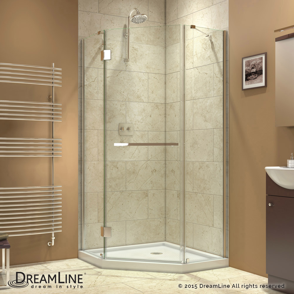 DreamLine showers: Prism-X Hinged Shower Enclosure