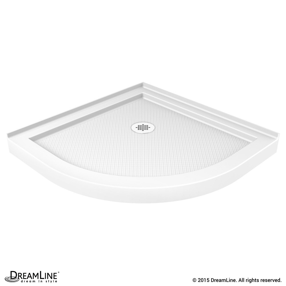 DreamLine showers: Shower Base & Backwall Kit QWALL-2