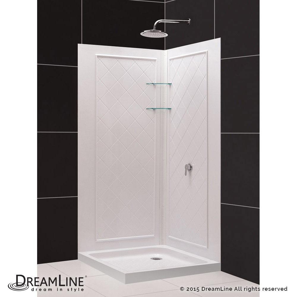 DreamLine showers: QWALL-4 Shower Backwalls Kit