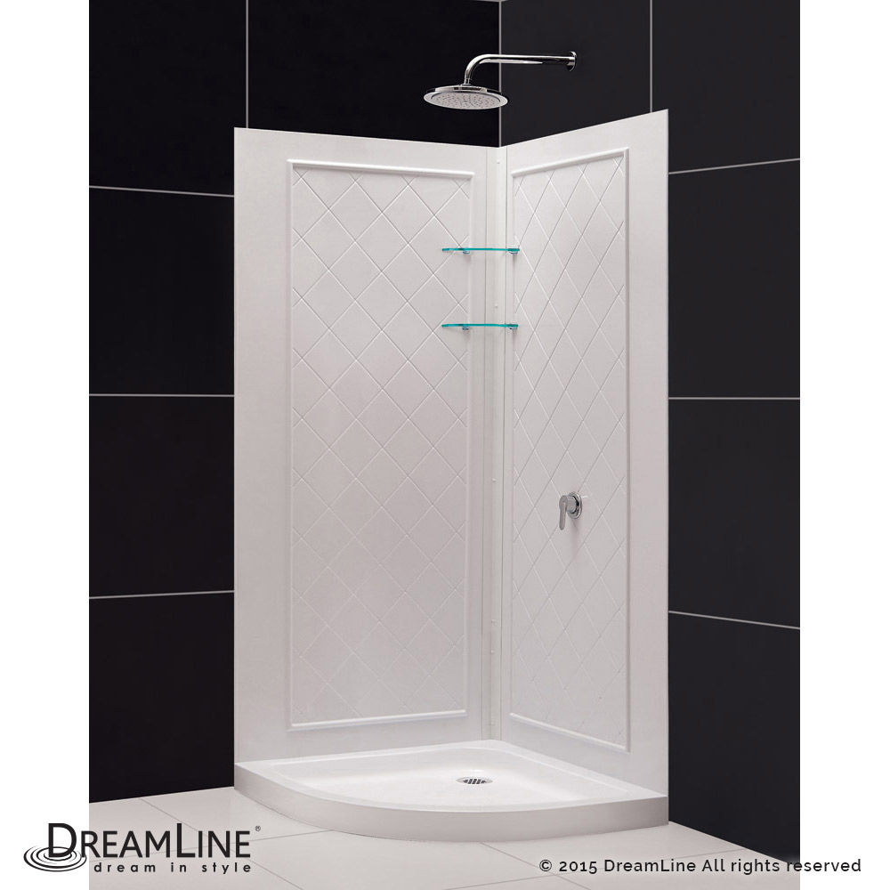 DreamLine showers: Prime Sliding Shower Enclosure, Base & Backwall ...