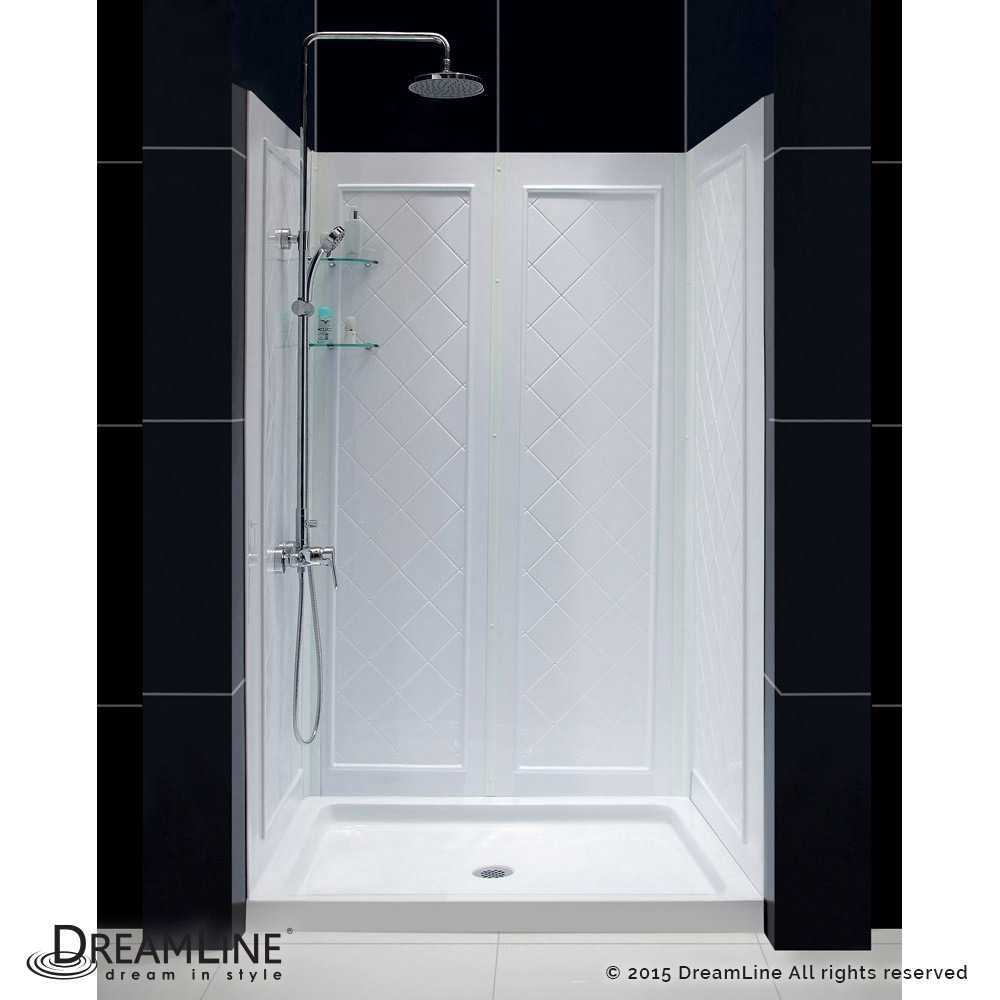 shower base u0026 backwall kit