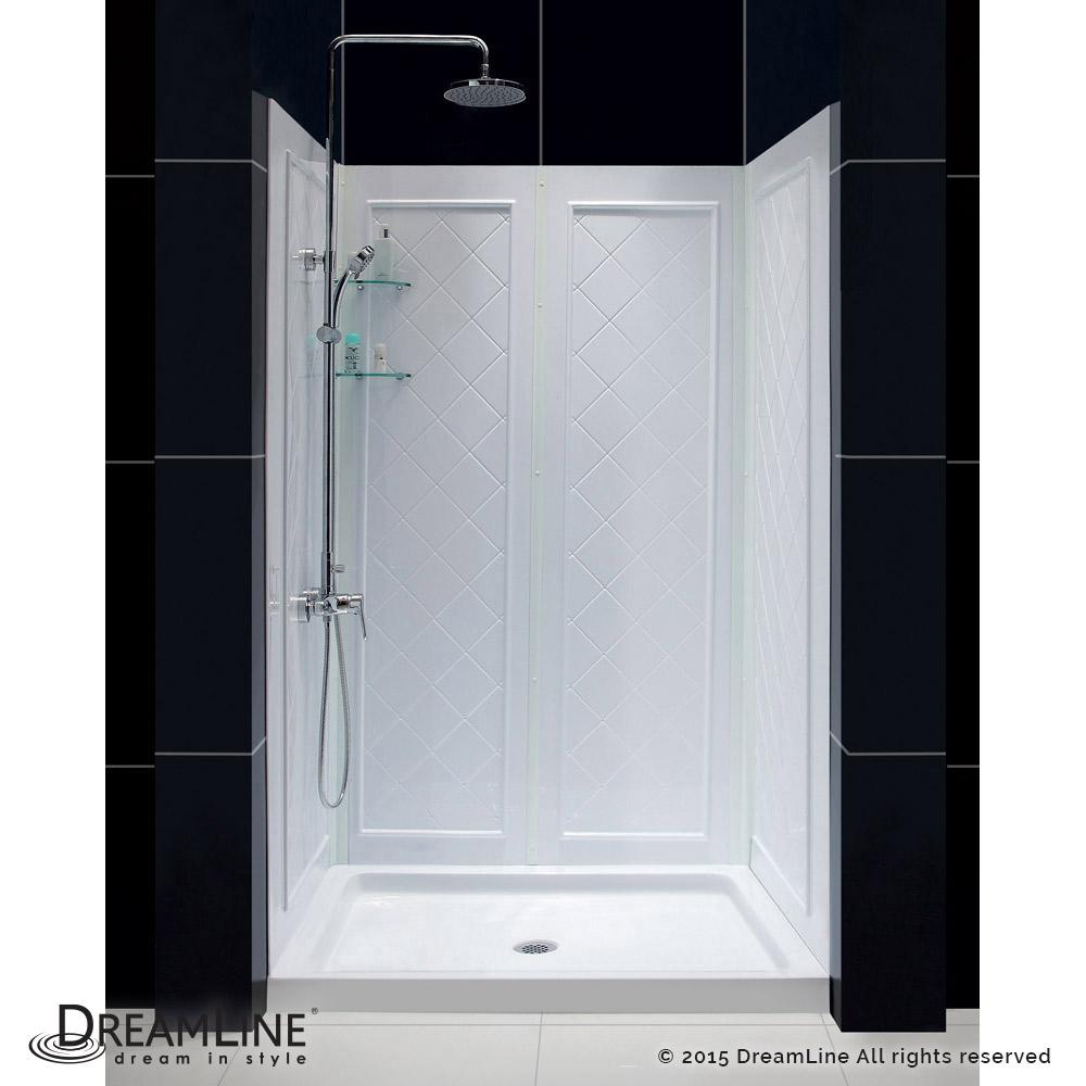 DreamLine showers: QWALL-5 Shower Backwalls Kit