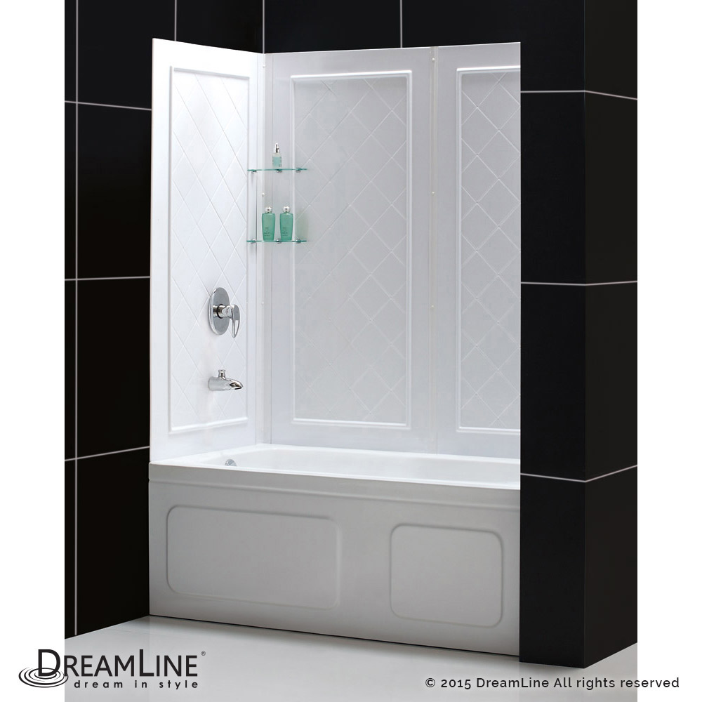 DreamLine showers: QWALL-Tub Backwalls Kit
