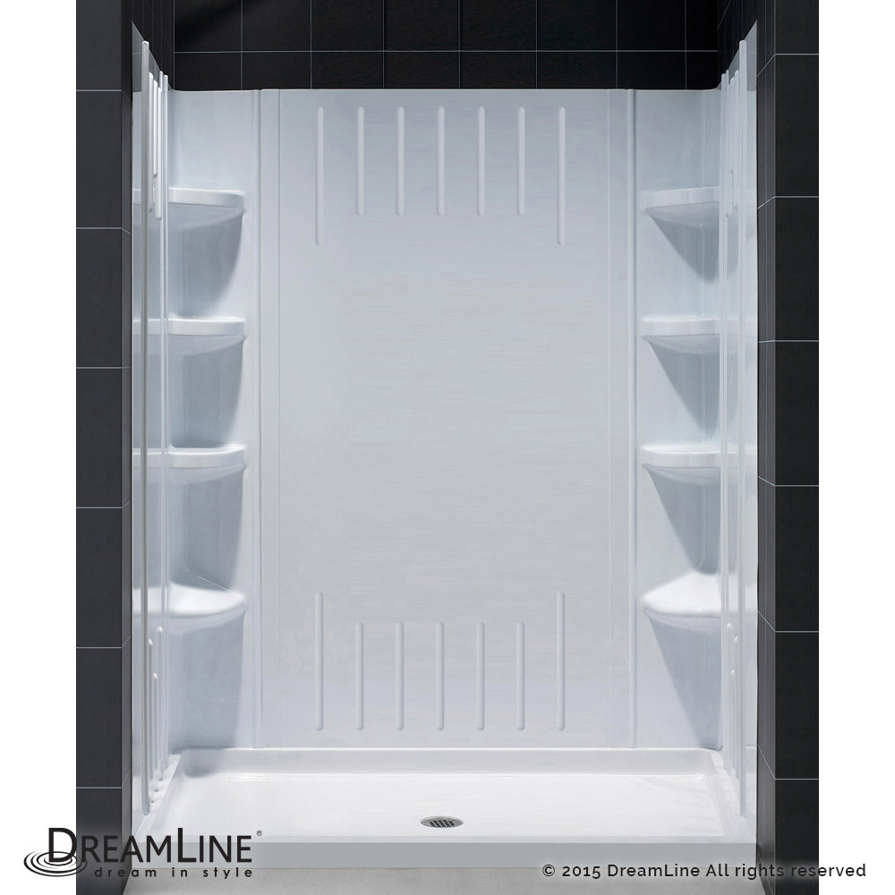 DreamLine showers: QWALL-3 Shower Backwalls Kit