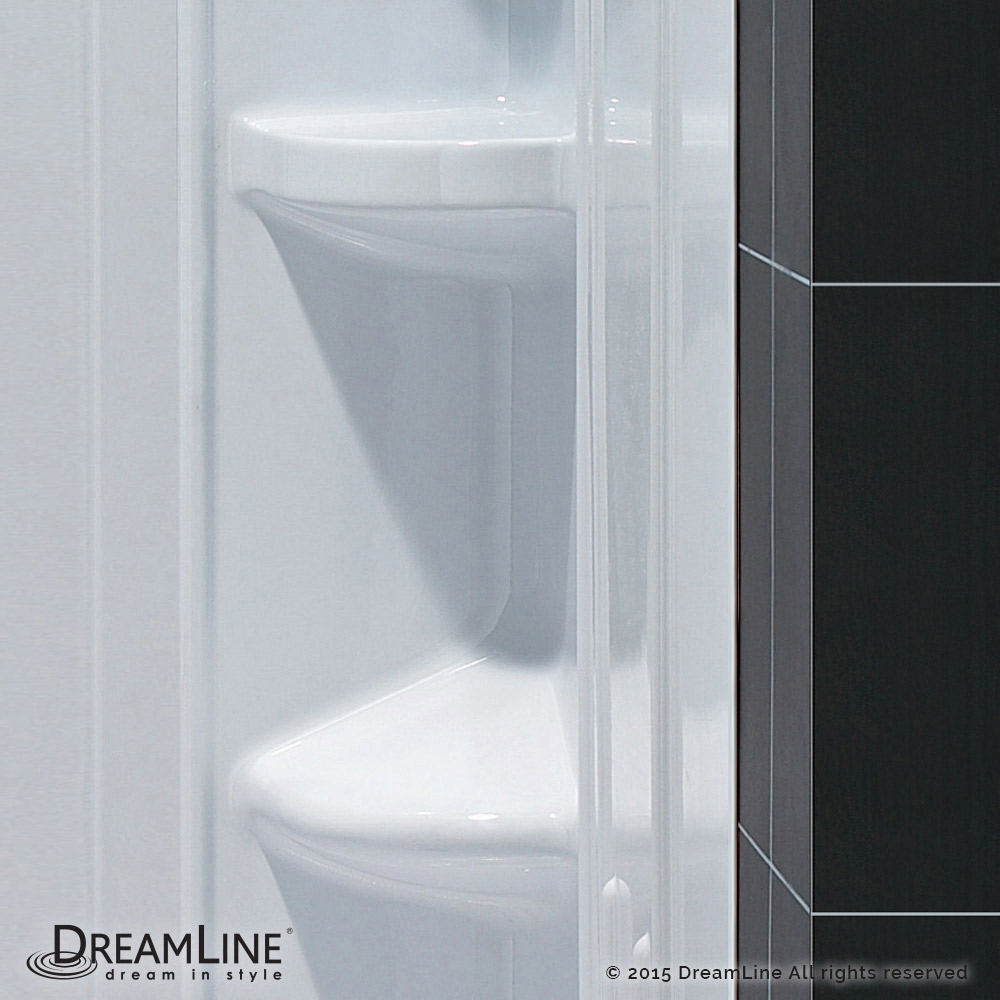 DreamLine showers: QWALL-2 Shower Backwalls Kit