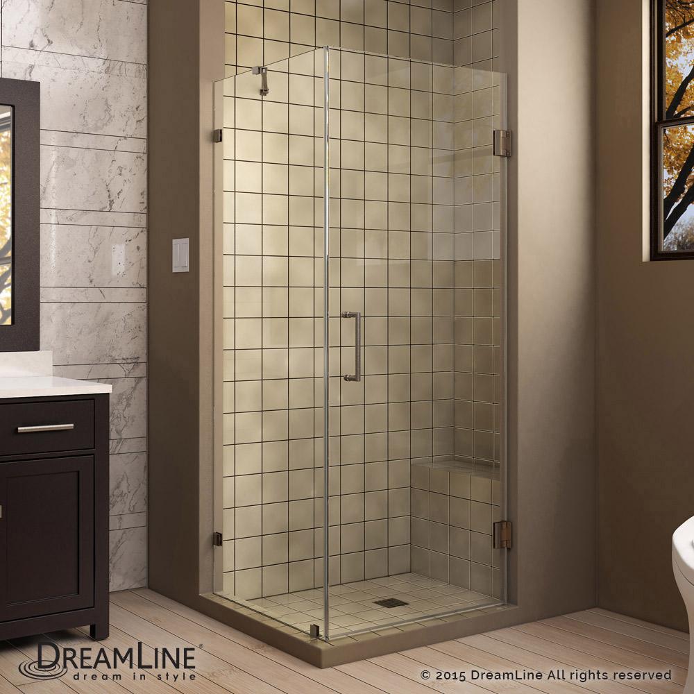 UnidoorLux Hinged Shower Enclosure