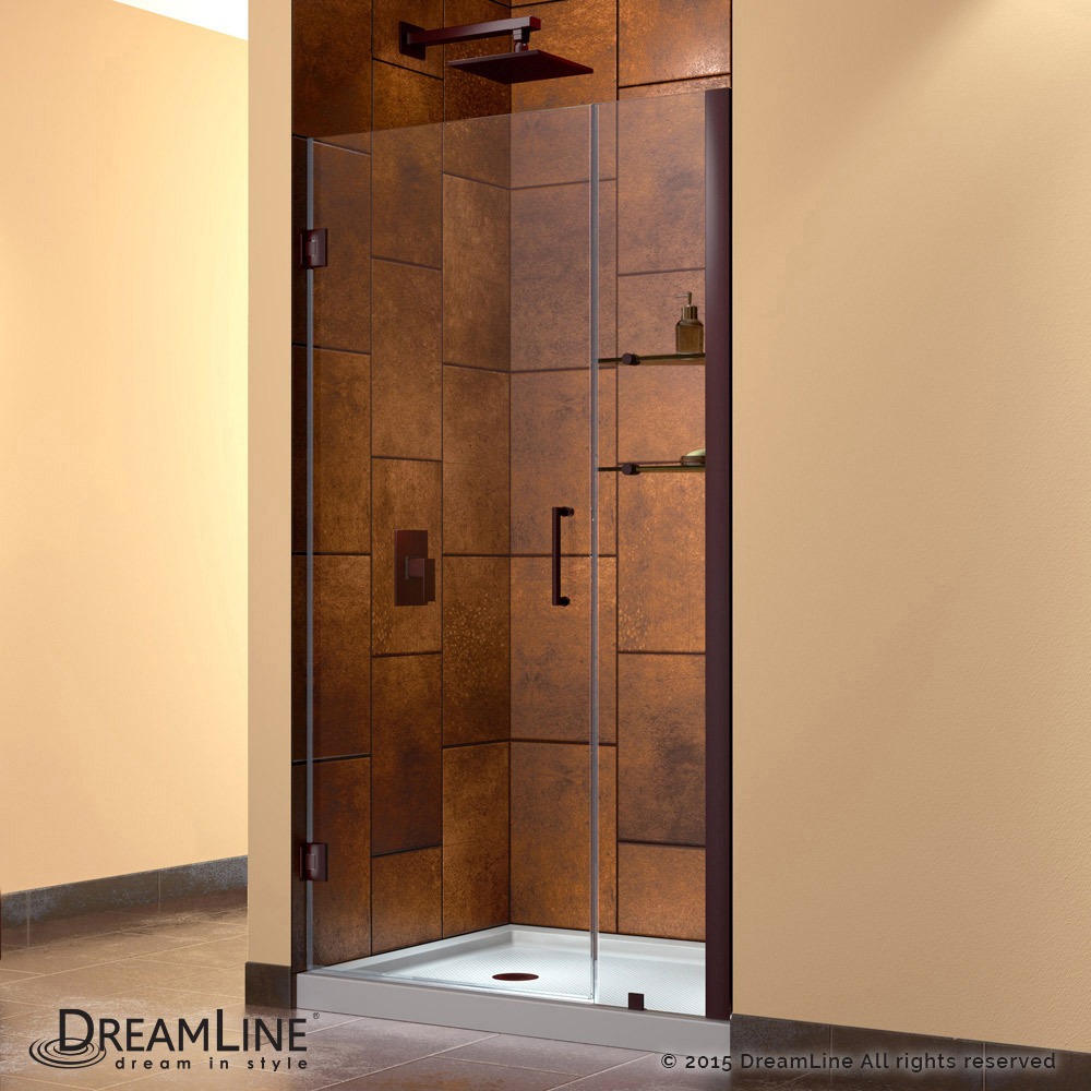 32 Shower Door Part - 45: Hinged Shower Door
