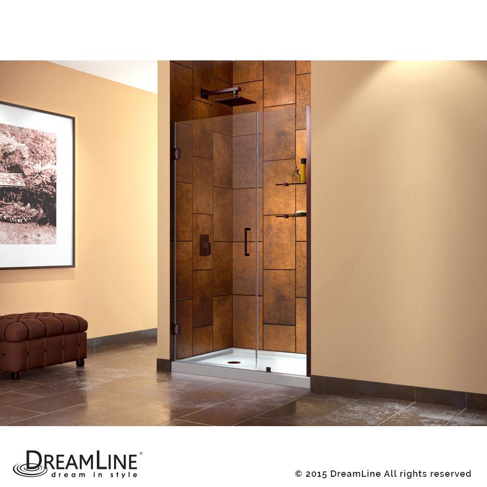 DreamLine showers: Unidoor Hinged Shower Door