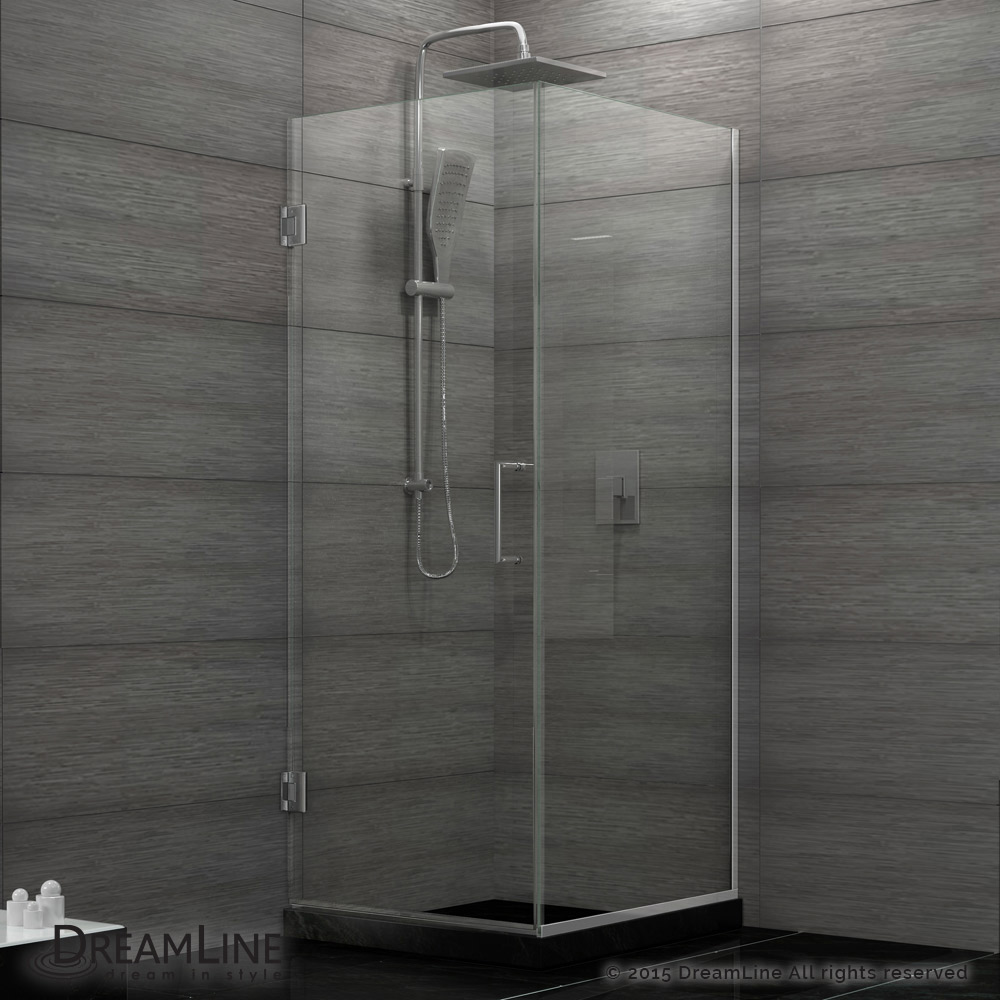 Unidoor Plus & Unidoor Plus Hinged Shower Enclosure