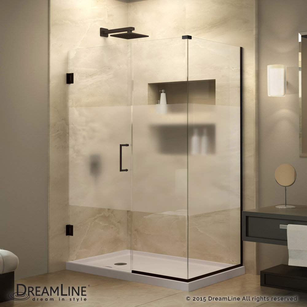 frosted glass shower - photo #19