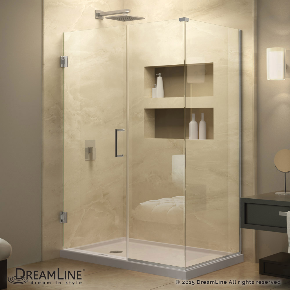 Unidoor Plus Hinged Shower Enclosure