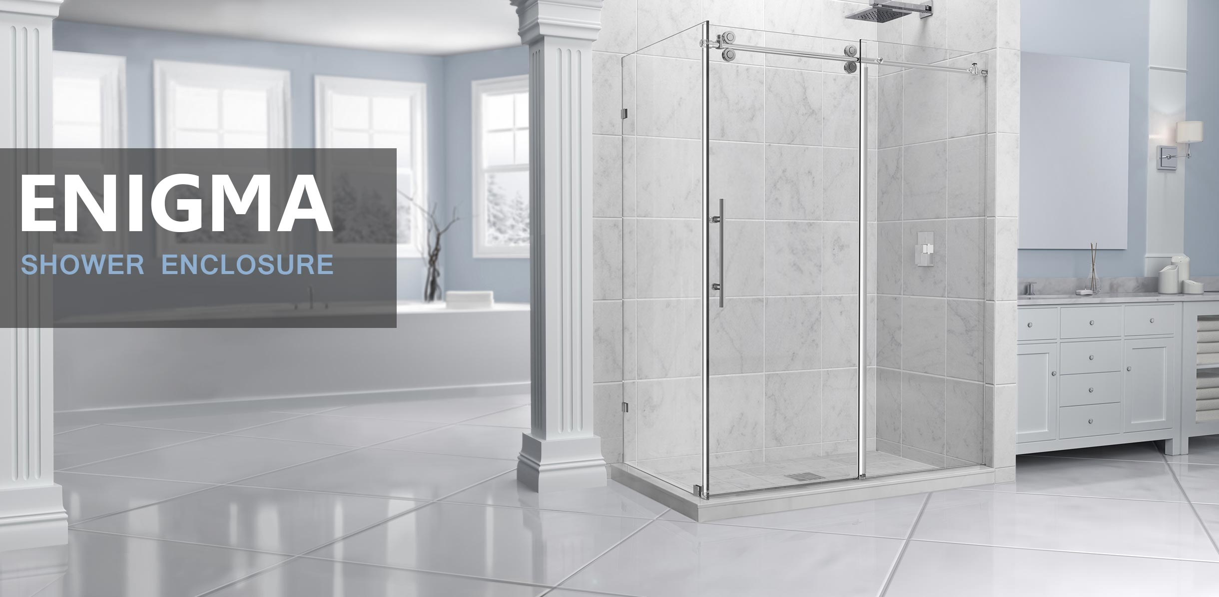 Frameless Doors and glass Doors - DreamLine Showers