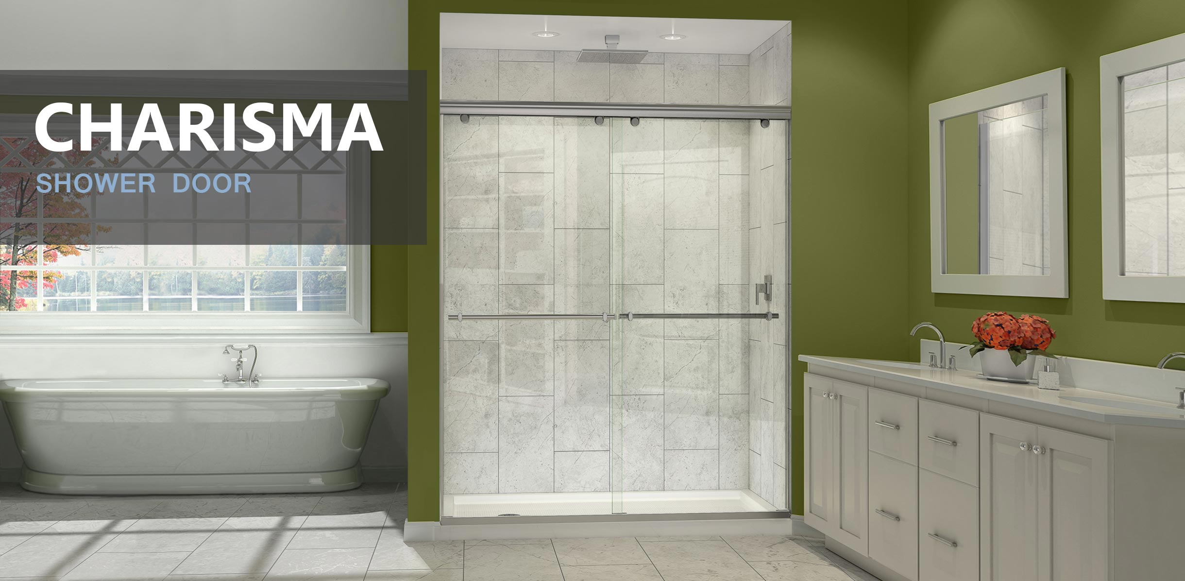 Shower Doors and Sliding glass Doors - DreamLine Showers