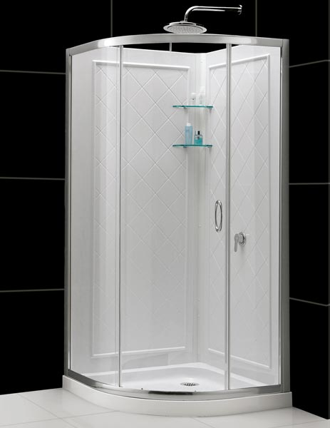 Qwall 4 Shower Backwalls Kit