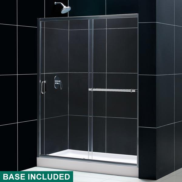 Infinity Shower Door Amp Tray Combo