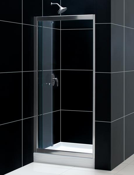 Dreamline Showers Butterfly Frameless Sliding Shower Door