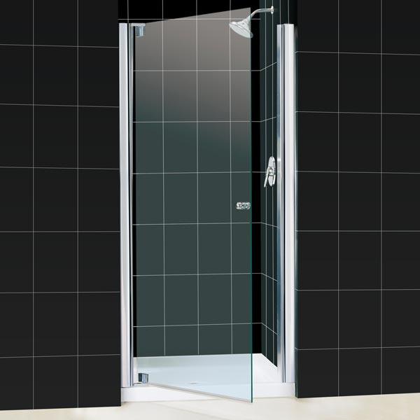 z p doors frameless chrome dreamline x infinity semi sliding in en inch home shower to door